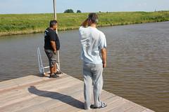Reitdieptochten Garnwerd 2013 260 (AWJ Hefting) Tags: swimming reitdiep garnwerd zwemmen reitdieptochten