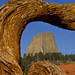 1st Place - Novice - Emily Harrington - Devils Tower Framed