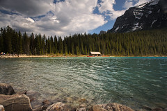 Lake Louise - Canada (Jackpicks) Tags: lake canada clouds spring alberta lakelouise banffnationalpark mygearandme mygearandmepremium