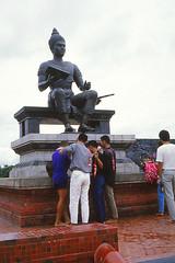 Ram Khamhaeng (Linda DV) Tags: thailand nanriver slidescan geotagged lindadevolder asia southeastasia siam geomapped canoscan travel adventure culture culturaltravel sight sukhothai