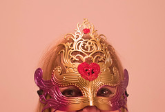 Masquerade (laurw) Tags: portrait woman colors mask masquerade mascara
