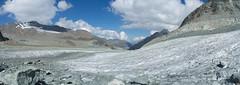 Glacier de Cheilon (Inklaar) Tags: summer autostitch panorama alps glacier zomer bergen alpen gletscher alpi wallis zwitserland ghiacciaio x100 gletsjer evolène 2013 ferner fujifilmx100 inklaar:see=all