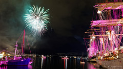 20130920-30-Welcoming fireworks for tall ships.jpg (Roger T Wong) Tags: night docks nocturnal fireworks australia wharf tasmania hobart tallships sullivanscove canoneos6d tamron2470f28vc tamronsp2470mmf28diusdvc