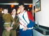 Stuart Hart with Ally McCoist 1990s