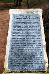 Qutb Shahi Tombs - inscription (siddharthx) Tags: architecture construction ancient hyderabad tombs golconda mausoleums qutbshahi bhagyanagar 1580ad 1687ad