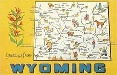 Wyoming (tico_manudo) Tags: wyoming mapcards