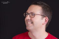 Stuart (Sharon Dow Photography) Tags: portrait male smiling studio glasses model nikon photoshoot 85mm stuart d7100 nikonafsdxmicronikkor85mmf35gedvr nikond7100 sharondowphotography