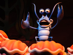 Hot crustacean band (ddindy) Tags: orlando florida disney disneyworld waltdisneyworld magickingdom littlemermaid fantasyland journeyofthelittlemermaid
