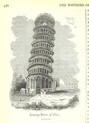 Image taken from page 496 of 'The Wonders of The World in Nature and Art. Edited by H. Ince' (The British Library) Tags: italy pisa medium leaningtower publicdomain leaningtowerofpisa towerofpisa vol0 page496 bldigital mechanicalcurator pubplacelondon date1839 sysnum001793707 incehenry imagesfrombook001793707 imagesfromvolume0017937070