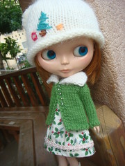 Blythe  knitted cardigan
