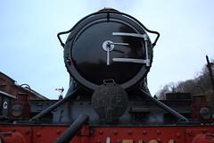 """GWR tank 5164 """"Last Trip"""" special (Keith Wilko) Tags: farewell locomotive worcestershire steamrailway svr gwr steamlocomotive severnvalleyrailway bewdley greatwesternrailway platform2 262t 5164 lasttrip tankengines specialtrain largeprairie boilerrepairs boilercertificate boileroverhaul 5164loco loco5164 thelasttripof5164"""