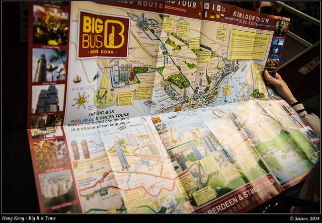 Big Bus 地圖