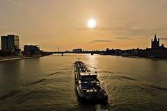 Der Rhein bei Köln (Andy von der Wurm) Tags: river germany deutschland boot boat europa europe ship cologne köln alemania nrw fluss rhine rhein allemagne schiff koeln strom nordrheinwestfalen northrhinewestfalia hobbyphotograph andreasfucke andyvonderwurm