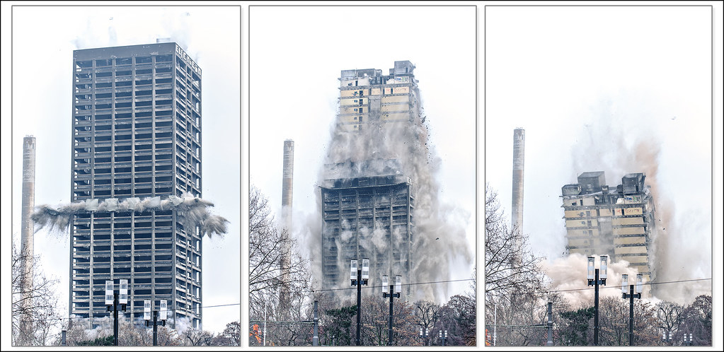 Building Demolition With Explosives : The world s best photos of collapse and tear flickr hive