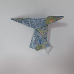วิธีการพับกระดาษเป็นรูปม้า (Origami Horse) 071