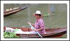 Tha Kha floating market - IMG_0347 (grab a shot) Tags: food woman canon thailand eos market bangkok traditional banana canoe 7d colourful floatingmarket thakha canoneos7d