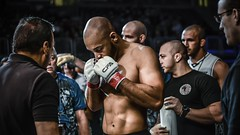 MMA Fight-Dream (sarahjaquemet) Tags: sports proud portraits intense fighter emotion hard cage human mma courge