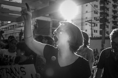(Dan Yodono) Tags: gay brazil sun white black girl eos angle wide protest photojournalism sigma rights 7d blonde flare backlit 24mm f18 screaming homophobia vision:mountain=0688 vision:clouds=0844 vision:sky=0791