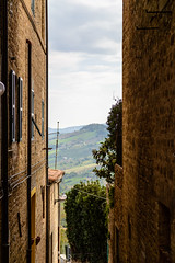 Cupramontana (MikePScott) Tags: camera trees italy mist lens italia hills marche ancona lemarche topography cupramontana nikon2470mmf28 nikond800 featureslandmarks