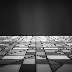 Sky Horizon (Radisson Blu) SC (Mabry Campbell) Tags: longexposure blackandwhite bw building monochrome up vertical architecture canon gteborg photography eos
