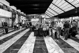 Stazione di Firenze - In attesa della partenza