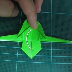 วิธีพับกระดาษเป็นจรวด X-WING สตาร์วอร์ (Origami X-WING) 031