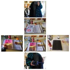 """At Work 23.2 2014: Performance Woyzeck - Woyzeck about the double nature, when nature is ending """"the world elapses to spiderwebs""""  - """"Hau die Watschenfrau auh"""" - Woyzeck auf Erbsendit ber die doppelte Natur, wenn die Welt zu Spinnweb zerrinnt (hedbavny) Tags: vienna wien red stilllife rot bag rouge austria sterreich stillleben blood outsiderart hand post web spiderweb an installation envelope mailart rucksack aus schrift rood rosso selbstportrait tinte lffel netz spinnennetz blut merkur italienisch profiteroles tasche cowbweb handschrift urin woyzeck umschlag zeichnen anziehen spezialitt kuvert ausziehen aktionismus schokosauce blutrot plastiklffel tintenpatrone urinflasche bontdivina schanzstrasse nachmittagsvorstellung hedbavny ingridhedbavny merkurihrmarkt korrespondenzkunst 40krapfentage2014 krapfen29"""