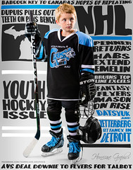 Magazine Cover Fun (Rick Shepard | HGFX) Tags: boy sports hockey youth athletics icehockey icerink athletes strobe magazinecover alienbees strobist rickshepard hgfx hurricanegraphics