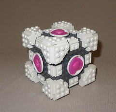 WCC V2 (04) (origamiguy1971) Tags: game cake video lego cube portal companion adrienne potal weighted esseltine origamiguy origamiguy1971