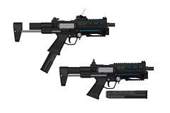 Ingram Smartgun SMG (Xan - Now on Airsoft) Tags: smg shadowrun ingram smartgun