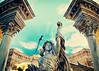 Trevi Fountain at Caesar's Palace (SOMETHiNG MONUMENTAL) Tags: travel sculpture art fountain canon lasvegas roman nevada trevifountain recreation caesarspalace g12 somethingmonumental mandycrandell