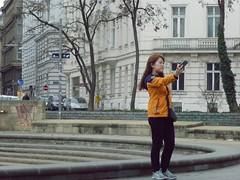 Self-contained (eva gardner) Tags: vienna wien tourists karlsplatz