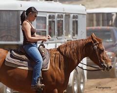 Dewey Barrel Race (Garagewerks) Tags: arizona horse woman sport female race all sony country barrel arena rodeo dewey cowgirl athlete equine 50500mm views50 f4563 slta77v