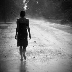Asia (Spartaxus) Tags: rain women finepix