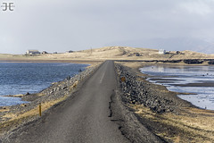 Dyrholaey Causeway (JoshJackson84) Tags: ocean sea beach iceland europe waves atlantic atlanticocean causeway headland dyrholaey canon60d sigma18250mm