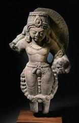 The Hindu God Vishnu LACMA AC1999.263.1 (Fæ) Tags: california usa losangeles wikimediacommons imagesfromlacmauploadedbyfæ sculpturesfromindiainthelosangelescountymuseumofart