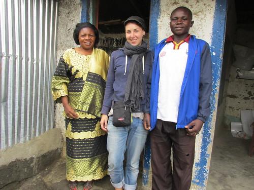 Avec Pasteur Pamela, Orphelinat de Nakuru, Kenya
