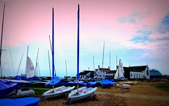 Twins... (MickyFlick) Tags: christchurch england english tourism boats yacht tourists dorset historical yachts southcoast channel touristattraction mudeford mudefordquay christchurchharbour