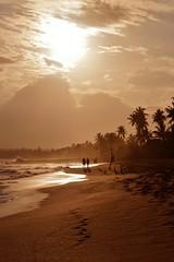 Tangalla - la plage de Marakolliya 4 (luco*) Tags: light sunset sea sky sun mer beach silhouette de soleil couple lumière coucher sri lanka ciel plage contrejour tangalle neach tangalla flickraward flickraward5 flickrawardgallery marakolliya