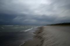 Before the rainstorm (tseehaus) Tags: balticsea rainstorm dars intentionalcameramovement