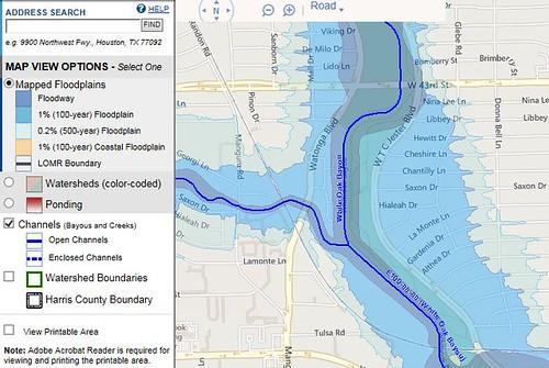 100 Year Floodplain Map Texas