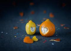 02/2015 Heart stories/Love (bess_bg) Tags: blue stilllife food orange love fruit lemon heart m42 citrus stillife manualfocus helios442