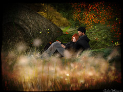 With you (Cenedra Ashbourne) Tags: photomanipulation photoshop photography couple exploring butterflies sl secondlife rack romantic dura plastik rowne zaara magika glamaffair 7deadlyskins withlovefair justanothertequillasunrise
