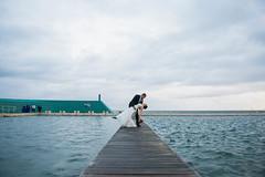 Newcastle Ocean Baths - Bride and Groom (Brett VonHoldt Photographer) Tags: wedding church newcastle michael jen photobooth ceremony celebration reception oceanbaths fernleightunnel merewethersurfhouse