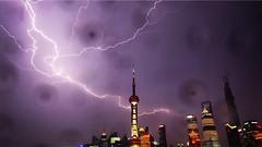 @jared_lo_fi_eye (Jared Price) Tags: china shanghai strike lightning pudong pearltower thebund