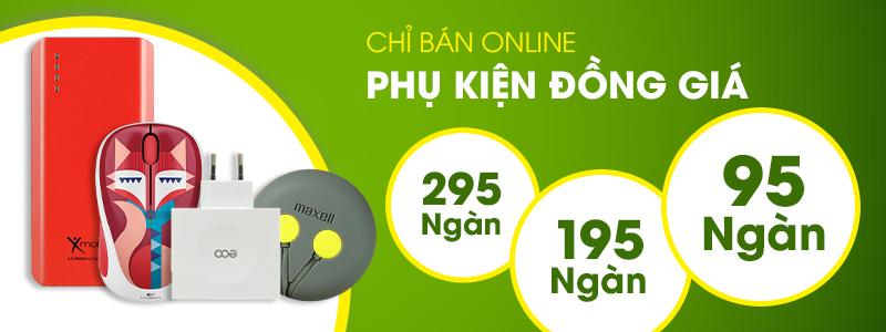 Chỉ bán online - Phụ kiện đồng giá - 95.000đ - 195.000đ - 295.000đ
