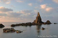 Amanece en Las Sirenas (IV) (Juan Carlos Muñoz Flores) Tags: cabodegata parquenatural costa paisaje lassirenas amanecer