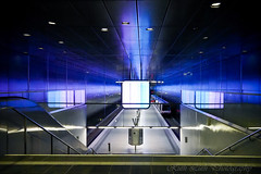 Subway station HafenCity Universitaet (Ruth Lueth) Tags: hamburg hafen u4 ubahnstation hafencity habor