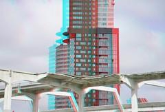 Rotterdam-Zuid 3D (wim hoppenbrouwers) Tags: 3d anaglyph stereo montevideo rotterdamzuid redcyan katendrecht veerlaan