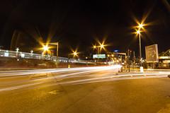 Roads of London (7 of 18) (johnlinford) Tags: city longexposure england urban london night landscape lights poplar unitedkingdom 7d gb docklands canonefs1022 canoneos7d